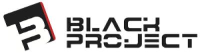 Black project fins logo 400x220