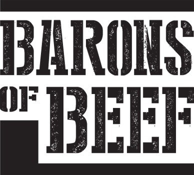 Logo barons of beef