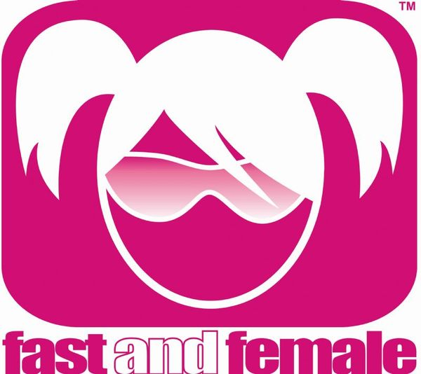 Fast and female logo 1