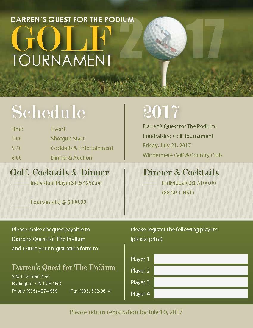 2017 golf tournament registration form darren gardner